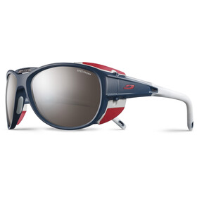 Julbo Explorer 2.0 Spectron 4 Sunglasses Matt Blue/Red-Brown Flash Silver